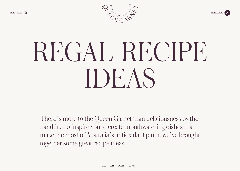 Queen Garnet