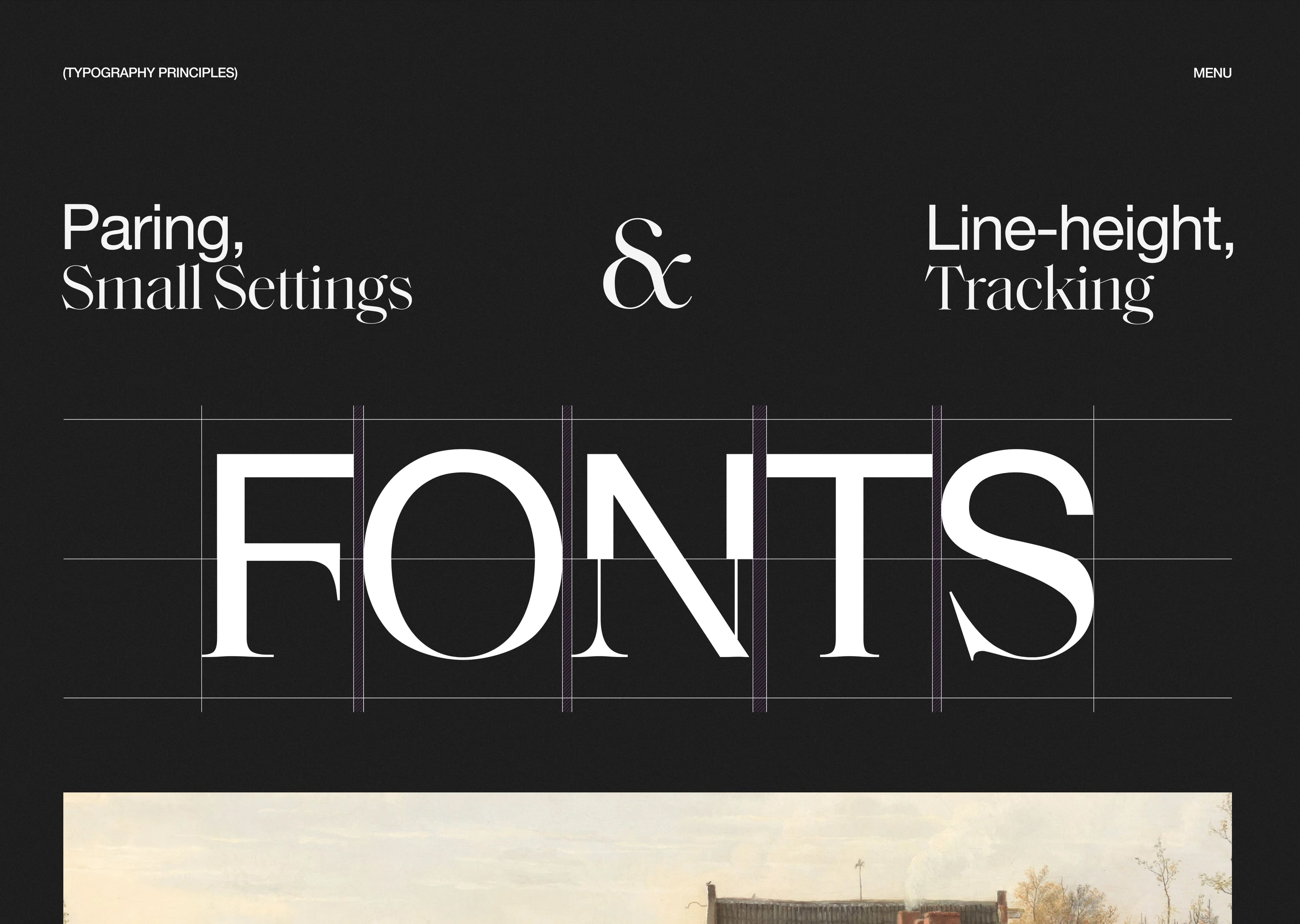 Typography Principles